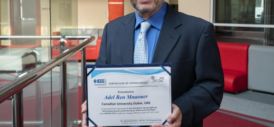 Dr Adel Best Paper Award