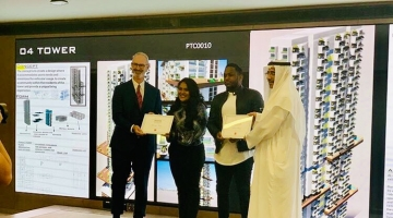 CANADIAN UNIVERSITY DUBAI STUDENTS AWARDED HONORARY MENTION