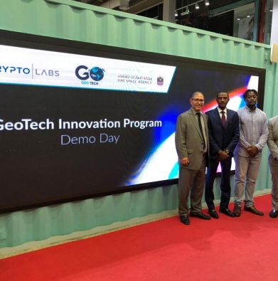 Congratulations to our Engineering students, Farouk Dalhatu, Nelson Egharevba & Umar Uba Abubakar, whose project was shortlisted by the UAE Space Agency and Krypto Labs